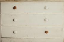 A white dresser
