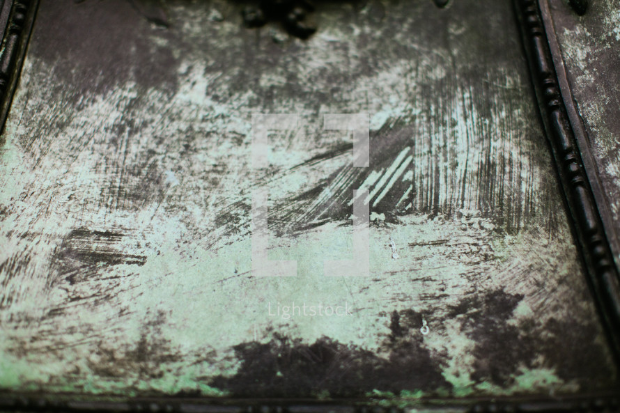 black and green grunge texture - paint strokes