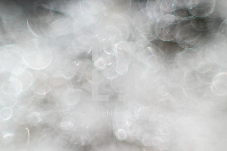 white light bokeh background