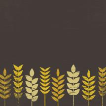 wheat stalks illustration.