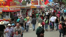 Crowd at the state fair.