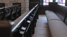 Interior of a church.