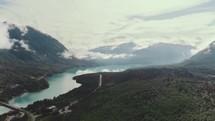 mountain lake time-lapse