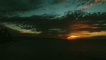 Maui beach at sunset