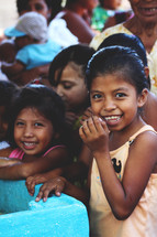 happy children in Guatemala
