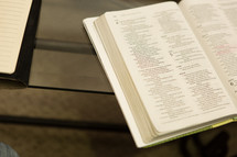 pages in a Bible