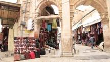 Compilation of b-roll shots around Jerusalem, Israel. Birds, olive tree grove, markets, police, security.