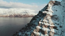 frozen mountain peak