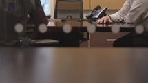 meeting at work