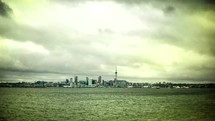 Auckland, NZ time-lapse