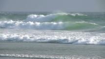 surf on a beach