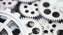 spinning gears system