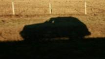 Car shadow.