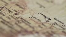 Vintage map.