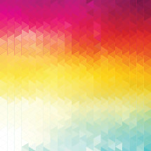 Colorful triangular abstract background.