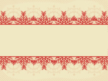 Christmas background with red snowflake border