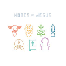Names of Jesus, Christian symbols, icons