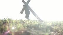 bearing the cross