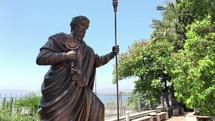 Peter Capaernaum statue