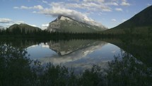 time-lapse Mount Rundle