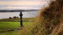 St. Martin's cross at Iona Abbey.