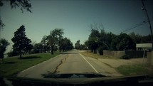 Timelapse of driving from home to the lake.