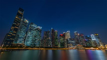 day to night in Singapore