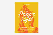 The Prayer Night Flyer Template