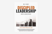 Discipled Leadership Flyer Template
