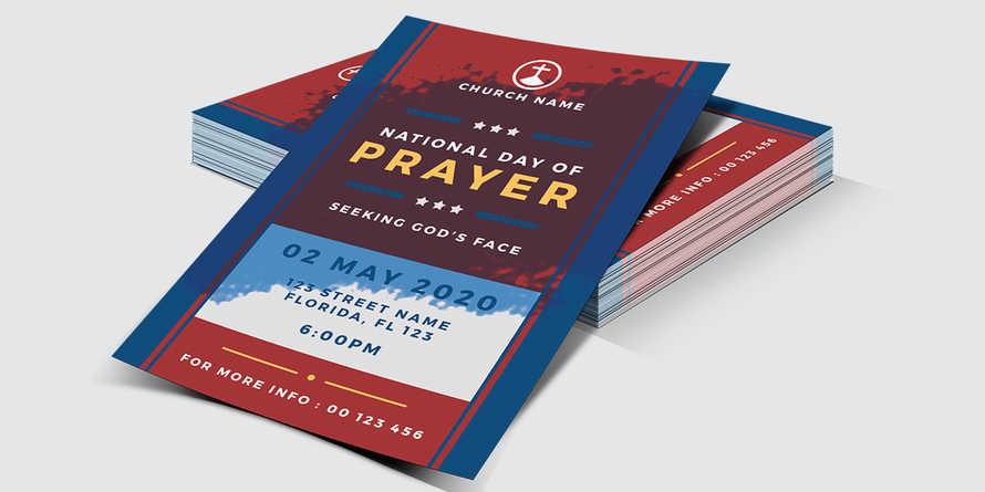 National Day of Prayer - Church Flyer