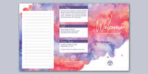 Living Hope Watercolor Trifold