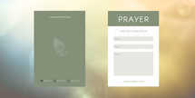 Geometric Prayer Connection Card