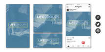 Life Groups Social Graphic Set