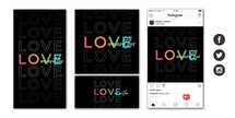 Love One Another Social Graphic