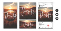 We Give Thanks Social Graphic