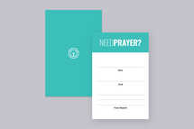 Prayer Request Card