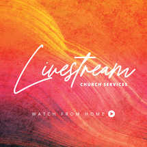 Livestream Church Services Social Graphics