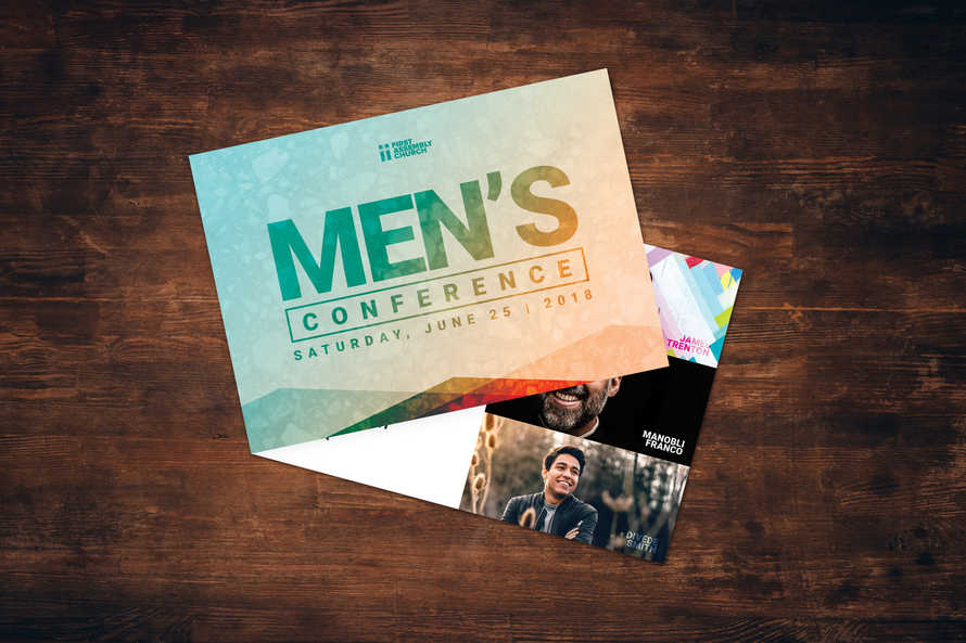 Men's Event Card