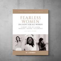 Fearless Women Flyer Template