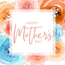Happy Mother's Day Social Graphic Set