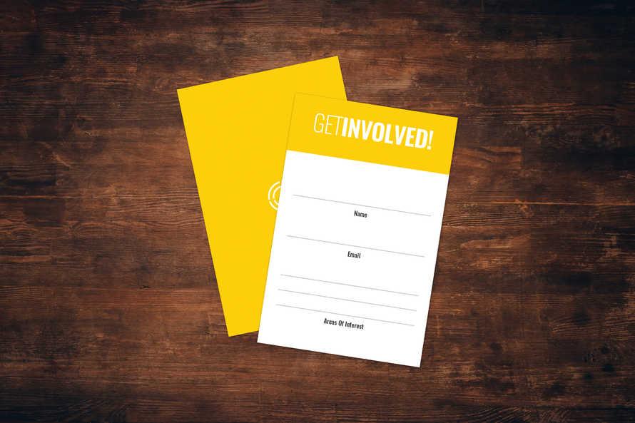 Get Involved Card
