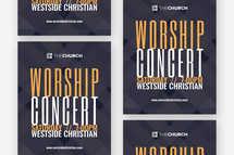 Worship Concert Flyer Template
