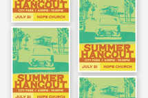 Summer Hangout Flyer Template