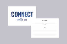Connect With Us Handout Template