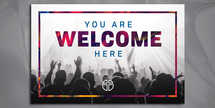 Welcome Worship 8.5x5.5 mailer