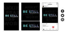 Be Still and Know Social Graphic Set