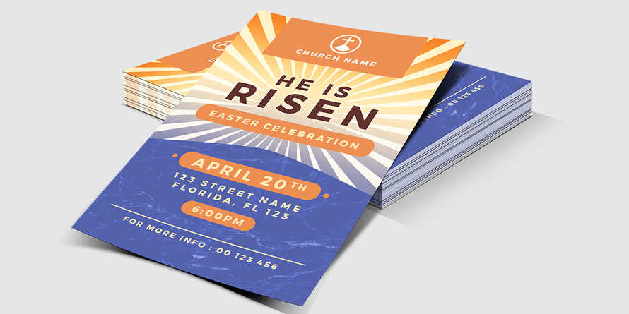 He is Risen Flyer