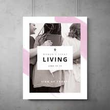 Living - Women's Event Flyer