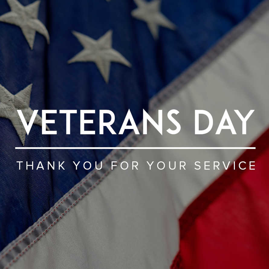 Veterans Day Social Media Graphic