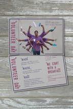 Postcard for Volunteer Day